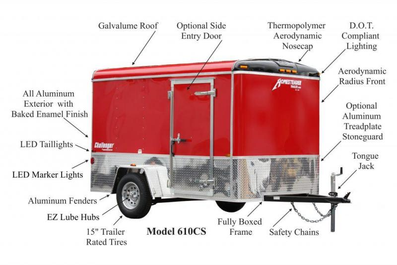5 X 8 Homesteader Challenger Cargo 3k