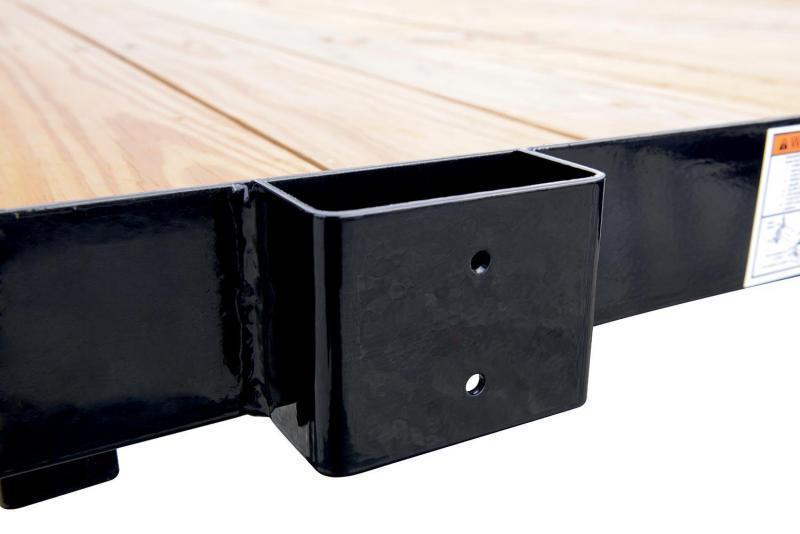 6 x 10 Sure-Trac Tube Top Utility 3k Gray
