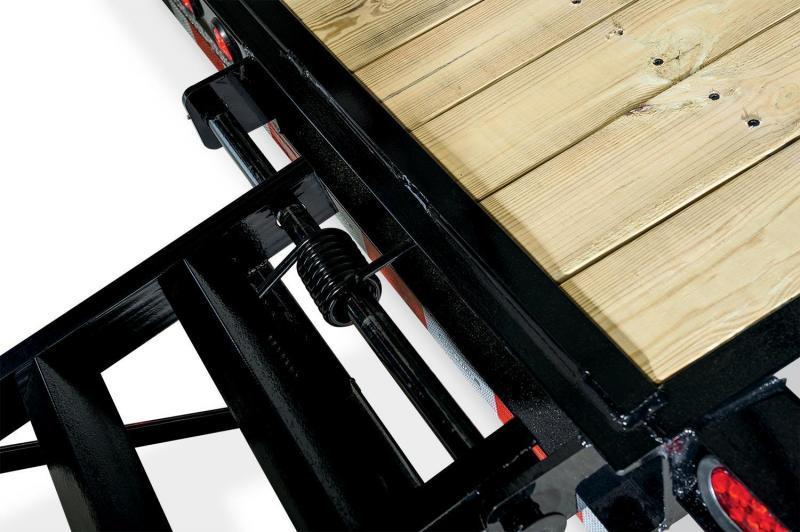 Sure-Trac 7 x 18  Skid Steer Equipment Trailer 14k