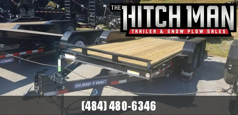 7 x 16 Sure-Trac Tilt Bed Equipment  14k