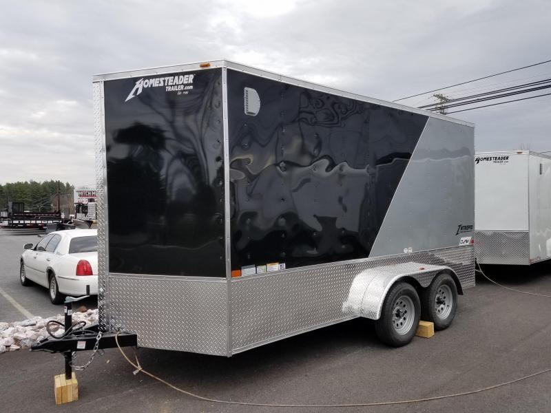 7 x 14 Homesteader Intrepid OHV V-Nose Cargo 7K