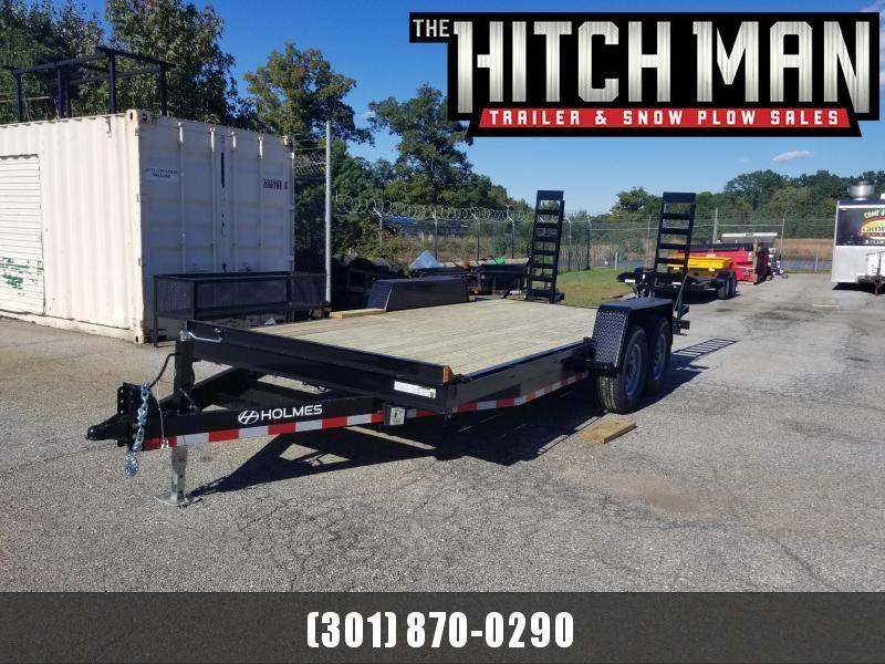 7 x 18 Holmes Equipment Trailer 12k