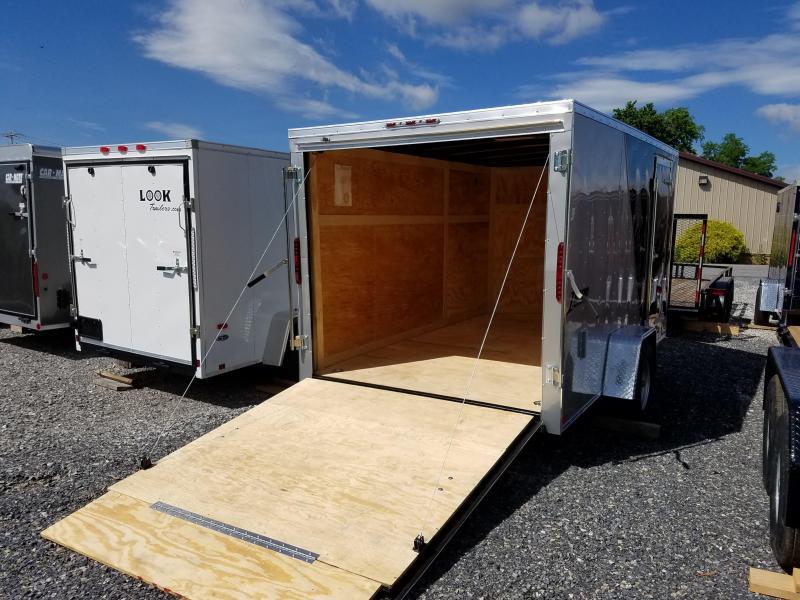 7 x 12 Homesteader Intrepid V-Nose Cargo Trailer 3k