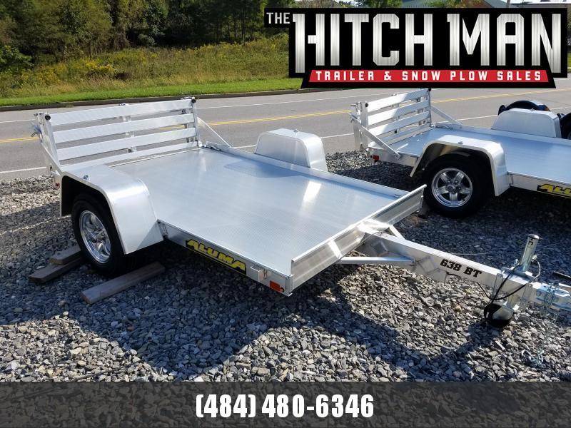 "Aluma 638 5' 3"" x 8'  Aluminum Utility Trailer 2k"