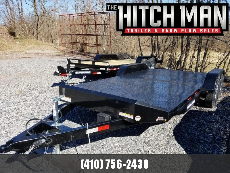 7 x 18 Sure Trac 7k Full Deck Car Hauler