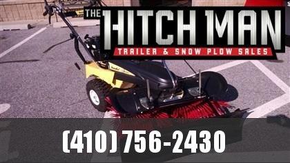 "SnowEx SS-4000 40"" Walk-Behind Snow Broom Plow"