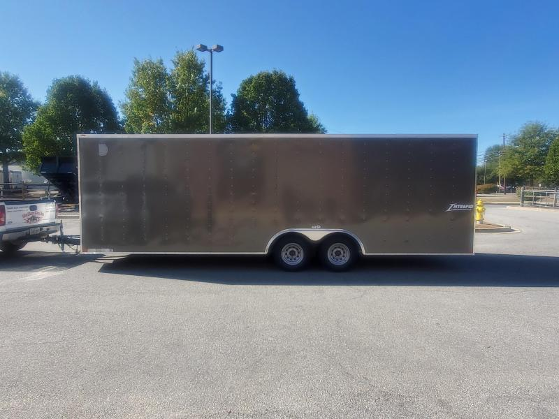 8.5 x 24 Homesteader Intrepid V-Nose Cargo Trailer 10k