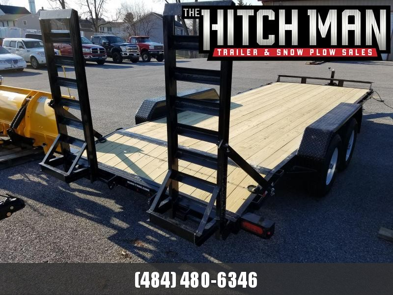 Sure-Trac 7 x 18 Implement Equipment Trailer 10K