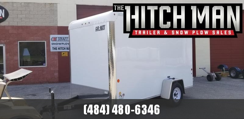 2020 Car Mate Trailers 6 x 12 Custom Enclosed Cargo Trailer