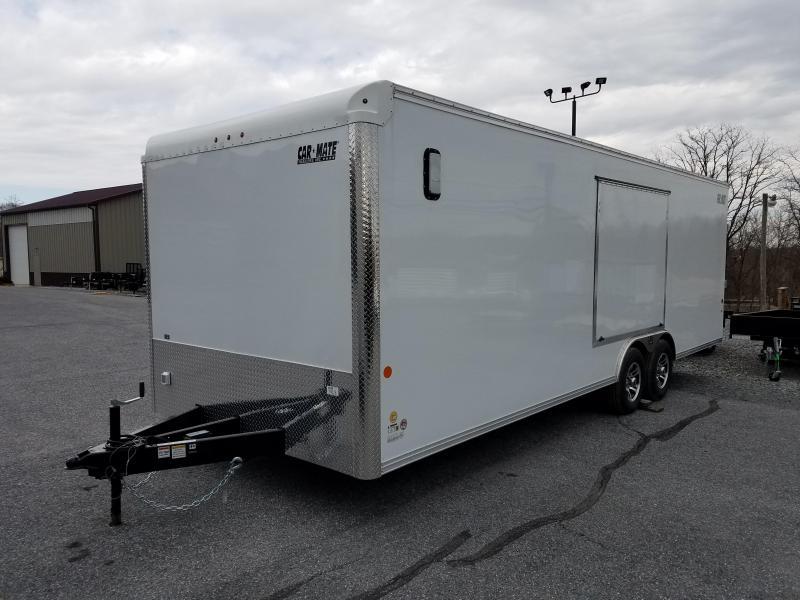 8.5 x 24 Car Mate Eagle Enclosed Car Trailer 10K
