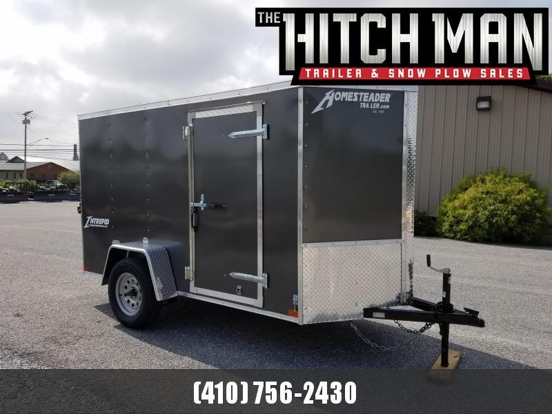 5 x 10 Homesteader Intrepid V-Nose Enclosed Cargo Trailer 3k