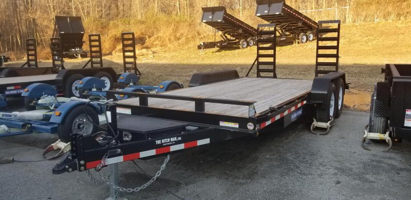 7 x 18 Sure-Trac Equipment Trailer  14k