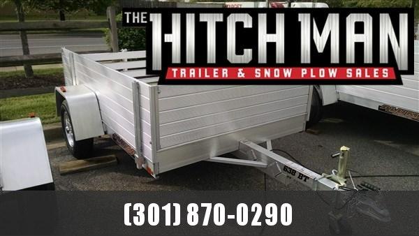 "Aluma 638 (5'3"" x 8) 2k High Side Aluminum Utility Trailer"