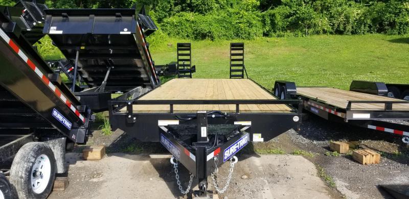 Sure-Trac 8.5 x 20 Ft +4 Beavertail Standard Duty 15k