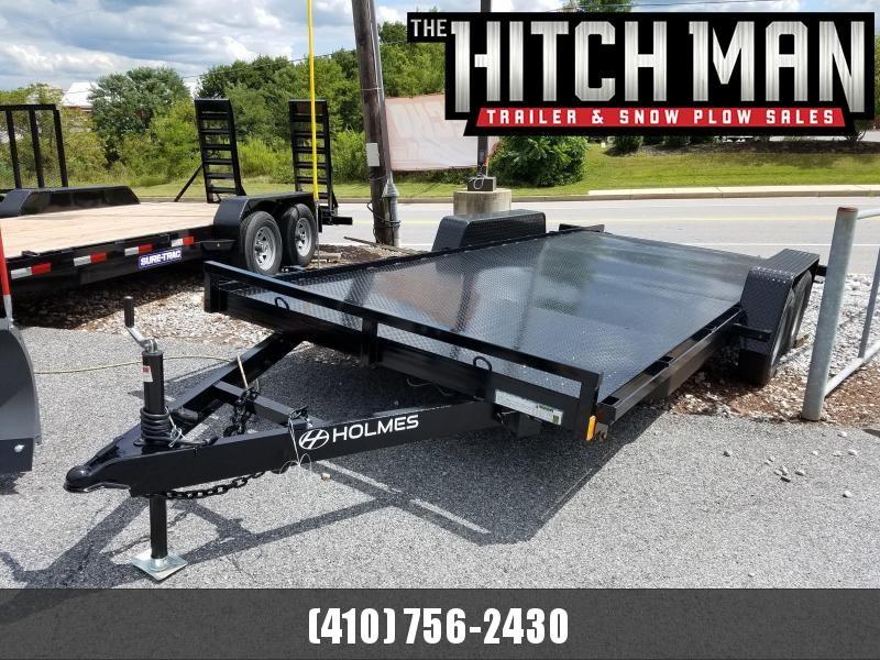 7 x 18 Holmes Full Deck Car Hauler 7k