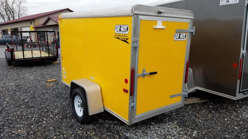 4 x 8.5 Used 2012 Car Mate HD Custom Cargo Trailer