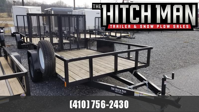"""Used 2017 Holmes 82"""" x 10' Commercial Utility Trailer 3K"""