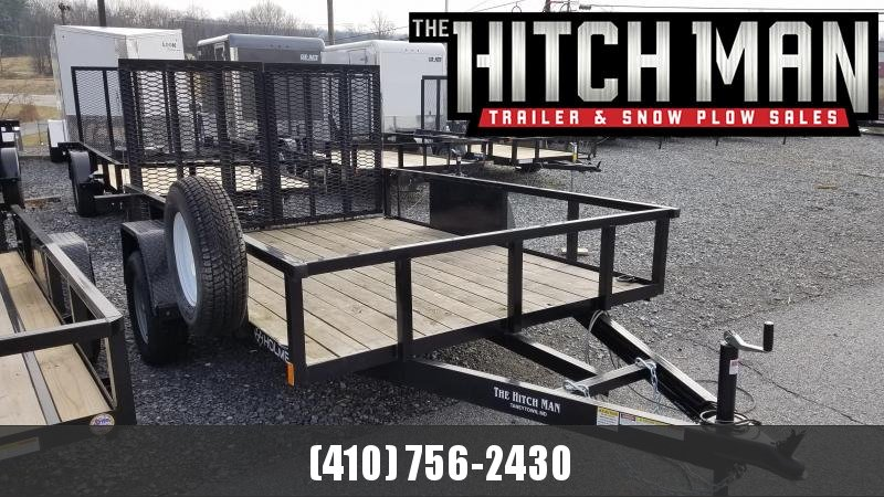 "Used 2017 Holmes 82"" x 10' Commercial Utility Trailer 3K"