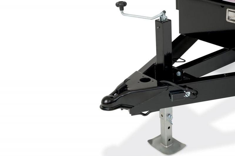 7 x 14 Sure-Trac  HD Telescopic Dump Trailer 14K