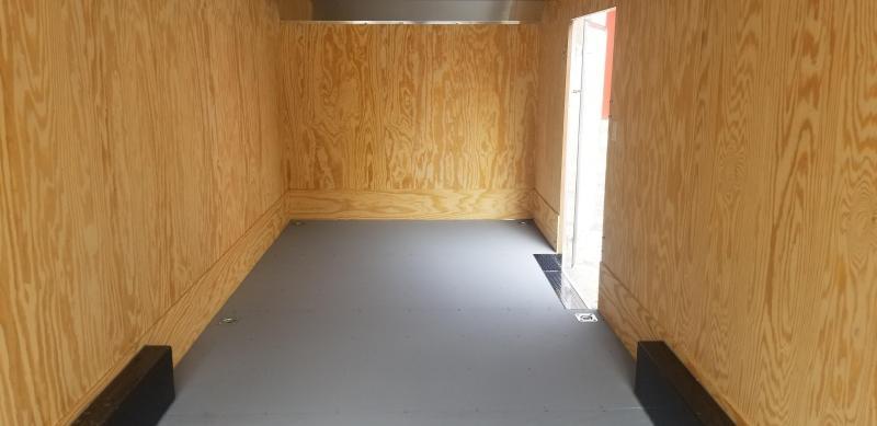 Car-Mate 8 x 24 Custom Landscaper Enclosed Cargo 10k