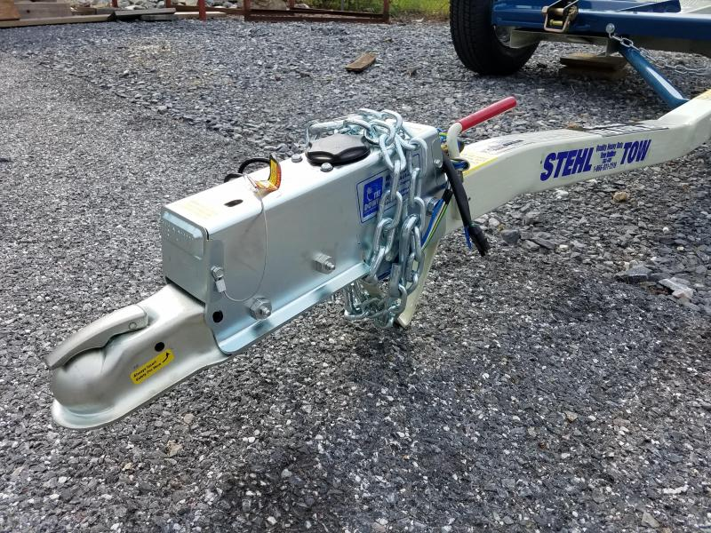 """80"""" Stehl Tow 3.5k Tow Dolly w/ Hyd. Disc Brakes"""