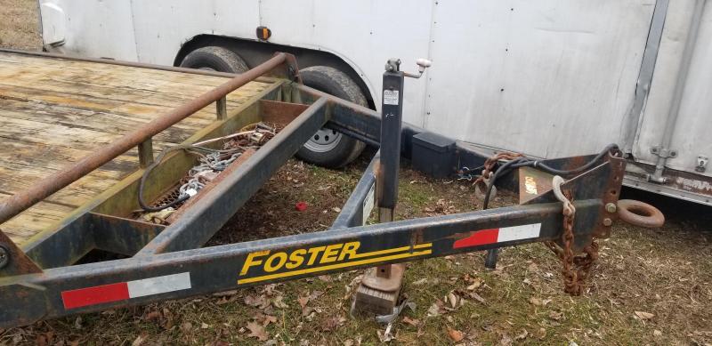 2015 Forester Used Equipment Trailer 12k