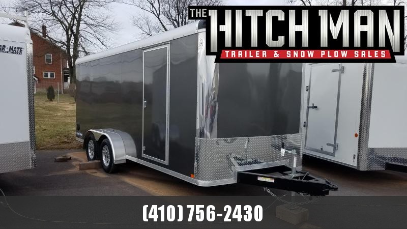 7 x 18 Sure-Trac Pro Series RT Cargo Trailer 7K