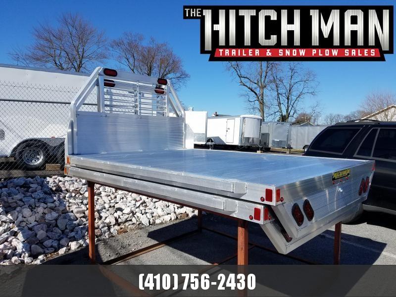 """96"""" x 106"""" ALUMA Aluminum Dually Truck Bed"""