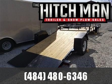 6.5 x 12 Sure-Trac Single Axle Tilt Bed Equipment Trailer 7k