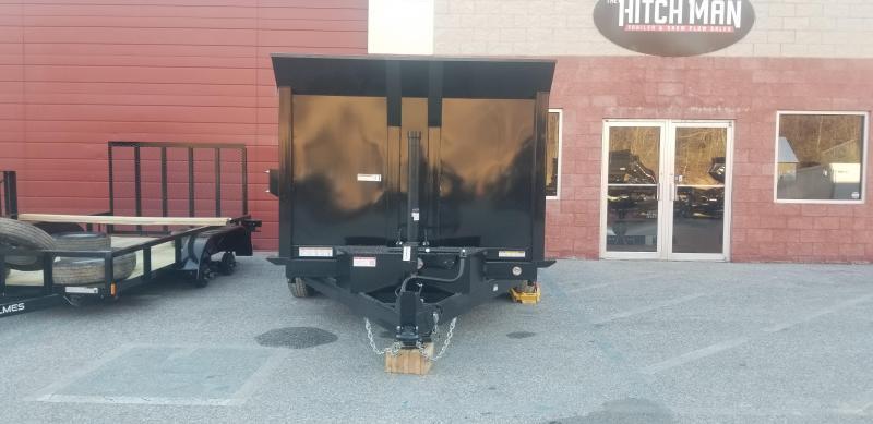 Sure-Trac 82in x12 LP Telescopic 4ft Side  Dump 14k