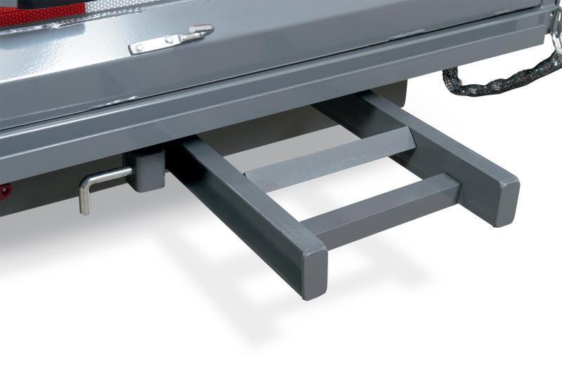 7 x 12 Sure-Trac Dual-Ram HD Dump Trailer 12k