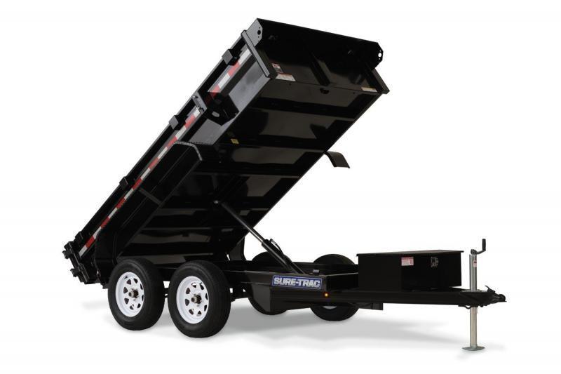5 x 8 Sure Trac Dump Trailer 5k