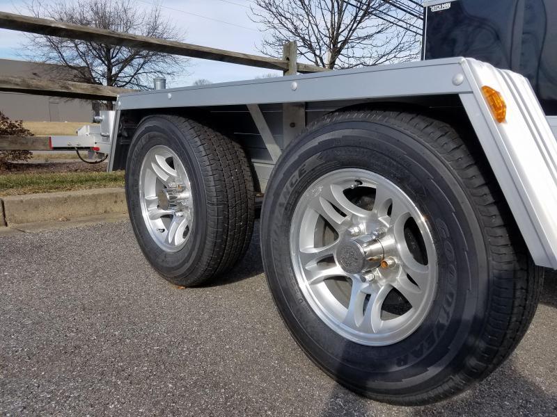 """80"""" x 15' Trailex Aluminum Car Hauler 5k"""