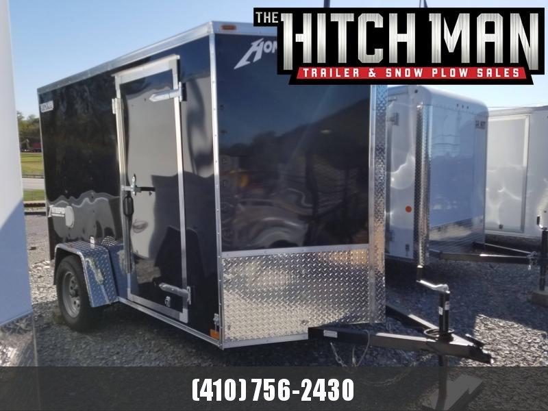 6 x 10 Homesteader Intrepid V-Nose Cargo Trailer 3k