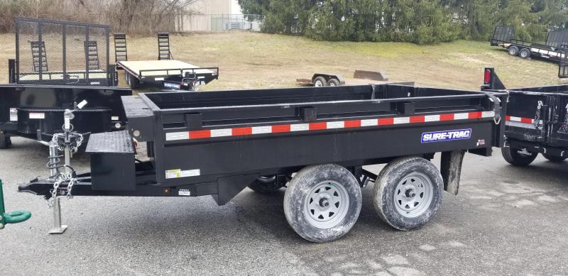 72in x 10 Sure-Trac  Deckover Dump Single Ram 7k