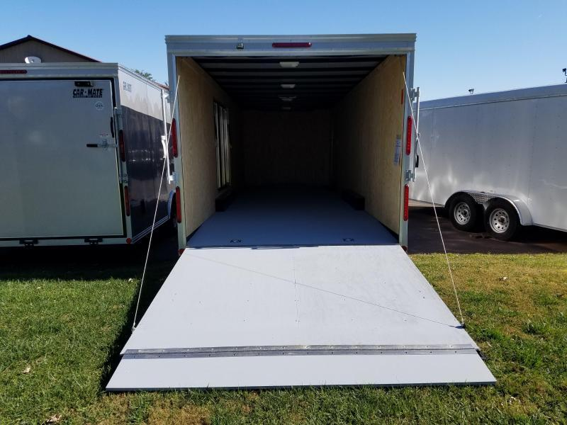 8.5 x 24 Car Mate V-Nose Advantage Car Trailer 10k