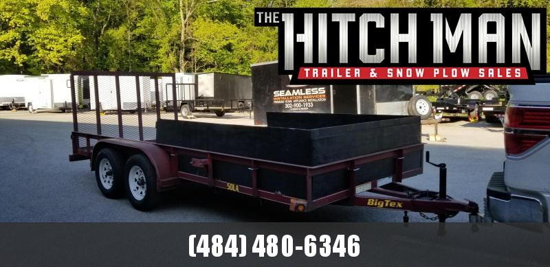 2011 Big Tex Trailers 6.5 x 16 Utility Trailer 5k