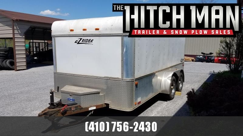 7 x 14 Used 2006 Homesteader EZ Rider Enclosed Cargo Trailer 7K