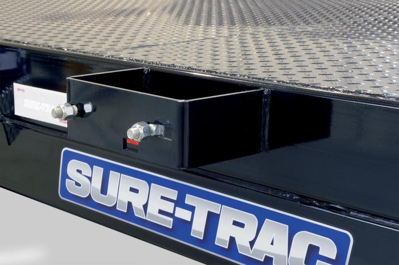 7 x 18 Sure Trac Steel Deck Car Hauler 7k