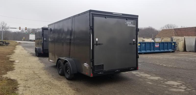7 x 16 Look Element SE Enclosed Cargo Trailer 7k