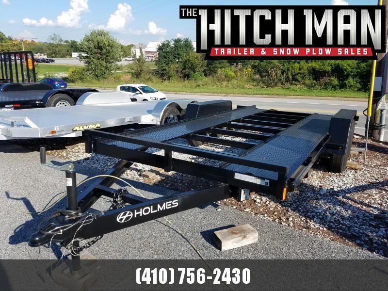 7 x 18 Holmes Open Deck Car Hauler 7k