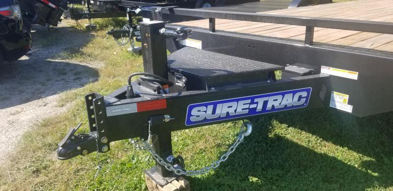 8.5 x 20 Ft +4 Sure-Trac Beavertail Standard Duty 15k