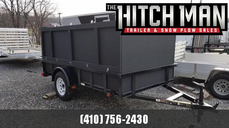 2019 Carry-On Used 5.5 x 10 Tube Rail Utility Trailer 3K