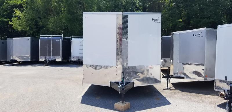 8.5 x 24 Look Element SE Cargo Trailer 10k