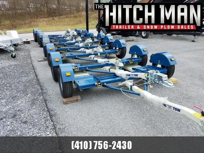 """80"""" Stehl Tow 3.5k Tow Dolly w/ Electric Drum Brakes"""