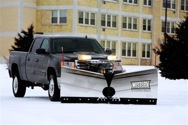 Western MVP3 Stainless Steel Snow Plow
