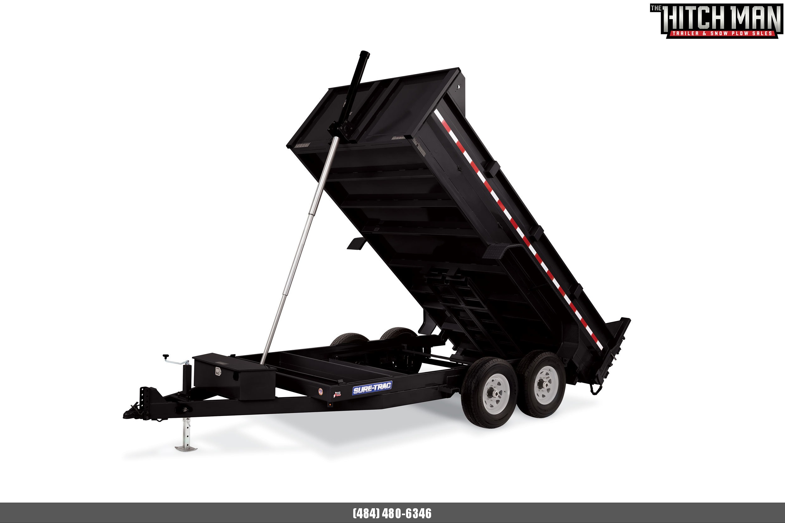 82in x 16 Sure-Trac Telescopic Dump 16k