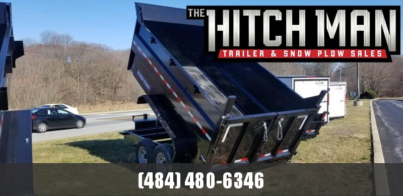 82in x 16 Sure-Trac Telescopic Dump 4ft High Sides 16k