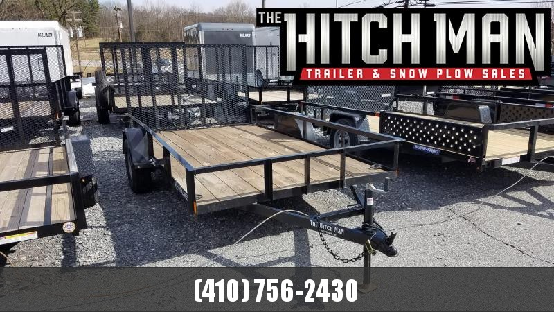 Used 2018 6 x 12 Holmes Residential Landscape Trailer 3.5k