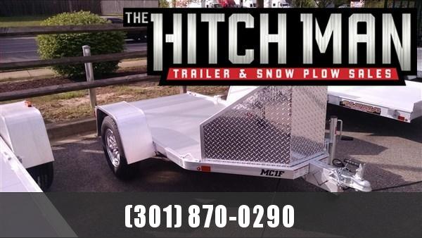 "Aluma MC1F (4'3"" x 9) 2k Folding Motorcycle Trailer"
